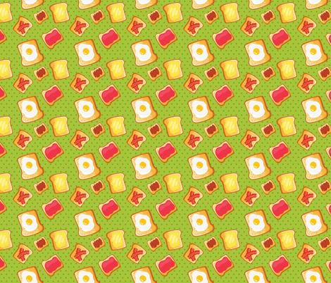 toast pattern fabric by kostolom3000 on Spoonflower - custom fabric