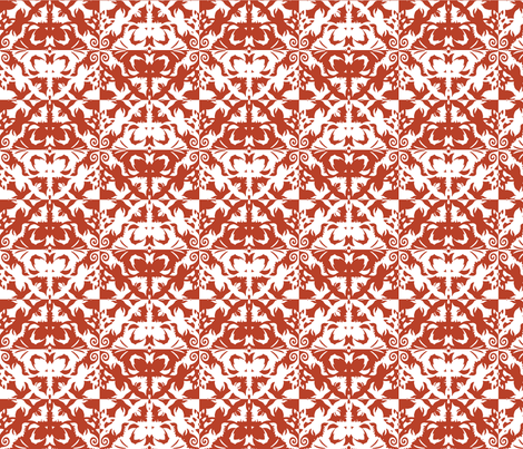 cut paper entry fabric by thatswho on Spoonflower - custom fabric