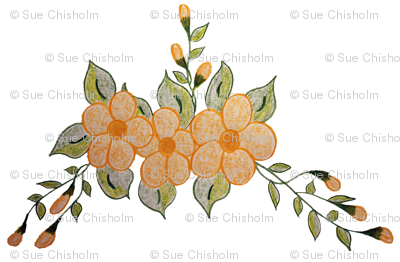 Sweet Peach Butter Floral