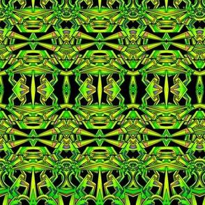 Lean Green Geometric Thing