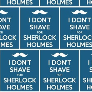 I Don't Shave for Sherlock Holmes - panel