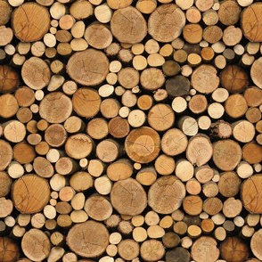 seamless log pile