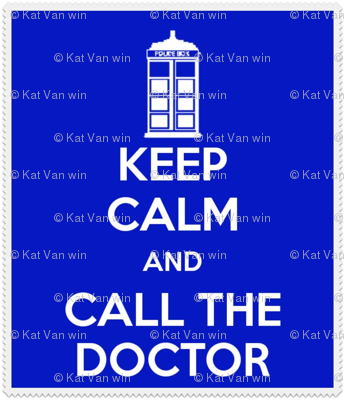 Keep Calm Call the Doctor - mini panel