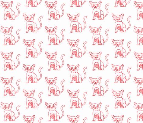 Chinese Katting fabric by kidsart2sew on Spoonflower - custom fabric