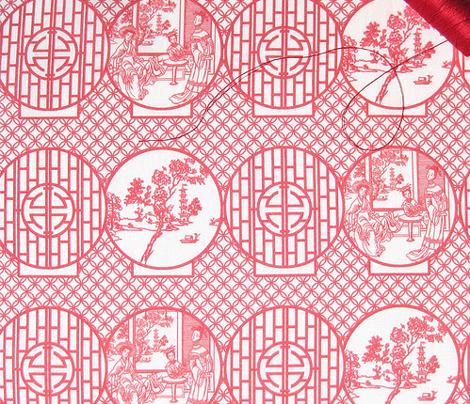 Open, shut, red on white by Su_G