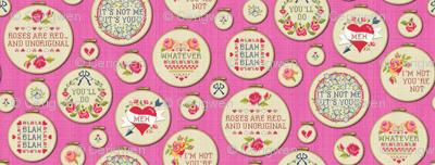 Jaded Valentine (embroidery hoops)