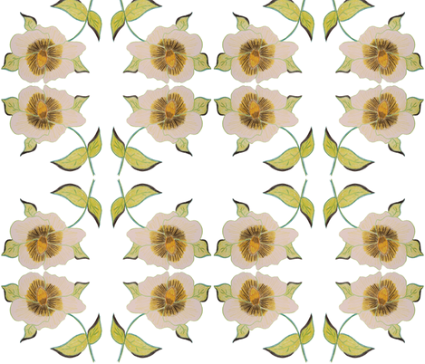 A Beautiful Bold Floral fabric by suechisholm on Spoonflower - custom fabric