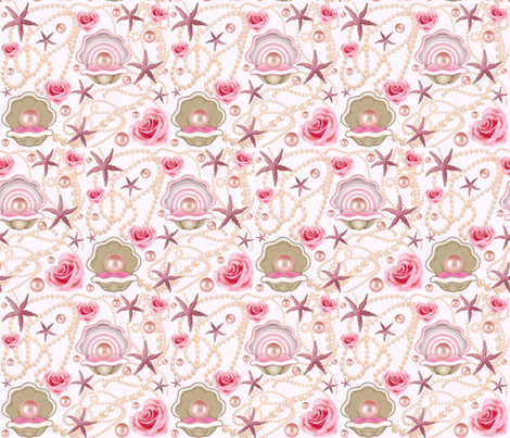 PINK PEARL fabric by bluevelvet on Spoonflower - custom fabric