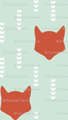Mint Red Fox