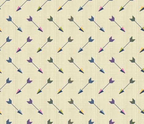 Cupid's Arrows fabric by cerigwen on Spoonflower - custom fabric