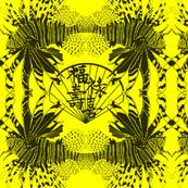 Lionfish on Yellow.