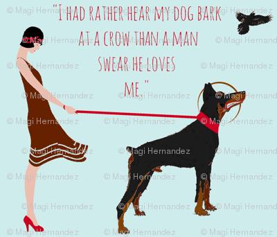 Hear my dog bark -   (blue)