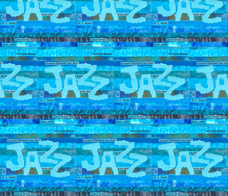 Jazz_History fabric by timaroo on Spoonflower - custom fabric
