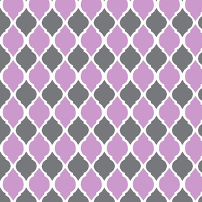 gray and lavender morocco tile-ch