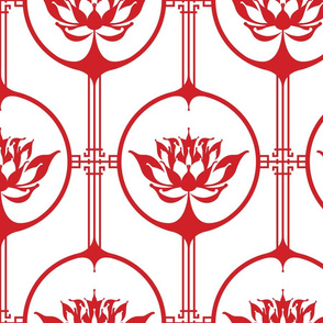 Cutting Paper - Lotus Red