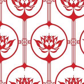 Cutting Paper - Lotus Red