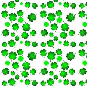 Lucky Green Clovers