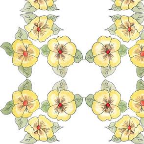 A Yellow Pretty Floral