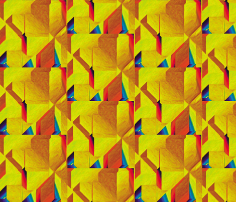 Cubism 8 fabric by animotaxis on Spoonflower - custom fabric