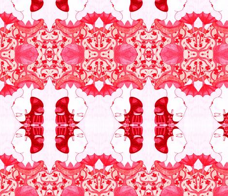 geisha fabric by jennagerie3 on Spoonflower - custom fabric