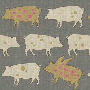 When Pigs Fly Tweed