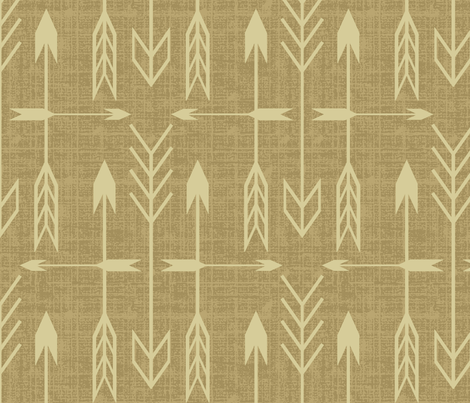 archer_burlap fabric by littlerhodydesign on Spoonflower - custom fabric
