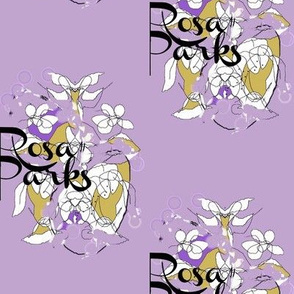 Rosa Parks Toile/Purple