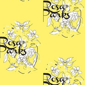 Rosa Parks Toile/Yellow