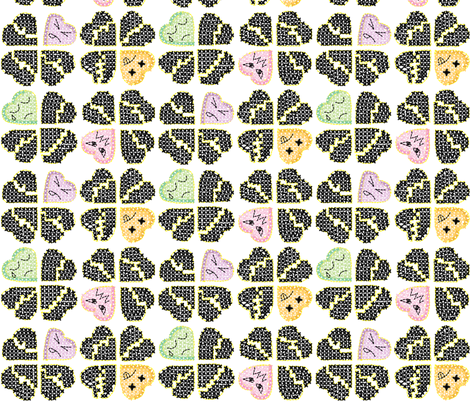 Anti-VD bittermints fabric by hpdesigns on Spoonflower - custom fabric
