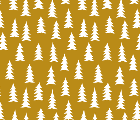 portland_brown_woods fabric by myracle on Spoonflower - custom fabric