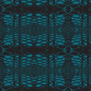 Retro Lace Small - Blueberry