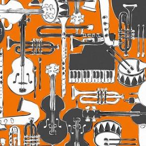 weave jazz orange