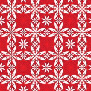 Oriental Poppy Lace
