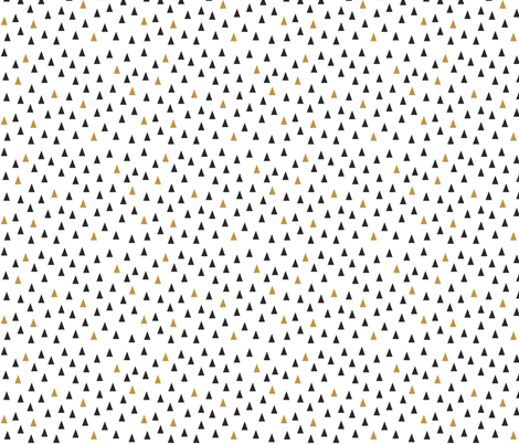 White-Black-Gold fabric by nobleandable on Spoonflower - custom fabric