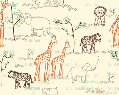 safari love ©2014 Jill Bull