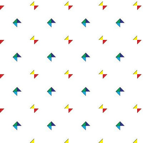 Triangles & Squares RYGBI