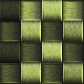 green metal weave