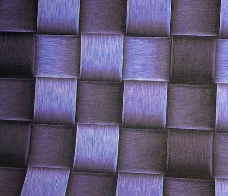 purple metal weave