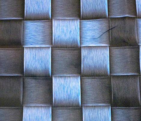 blue metal weave
