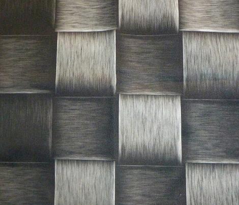 grey metal weave