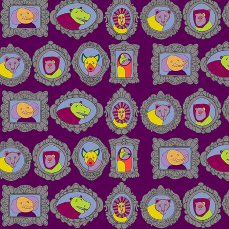 family album fabric by ecologies on Spoonflower - custom fabric