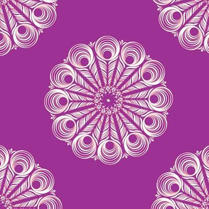ChineseMandala - purple