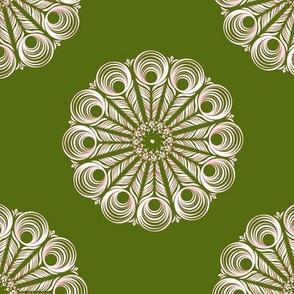 ChineseMandala - green