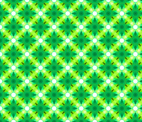 Spring geometry fabric by daria_rosen on Spoonflower - custom fabric
