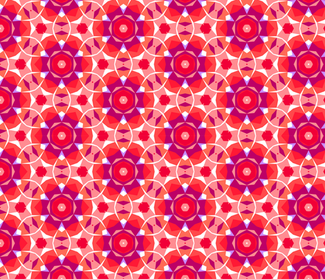 Shining rubies fabric by daria_rosen on Spoonflower - custom fabric