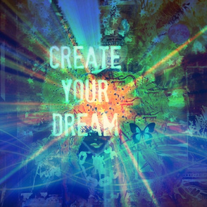 Create Your Dream #1 Blue
