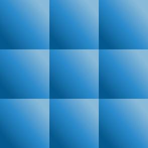 Simple Blue Gradient Squares © Gingezel™
