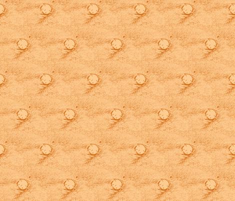 Rising sun-glowing sand fabric by ancsa on Spoonflower - custom fabric