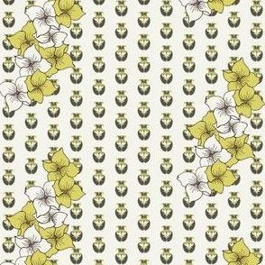 Dogwood Flowers in avocado