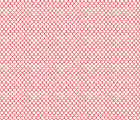 Scales by Friztin fabric by friztin on Spoonflower - custom fabric